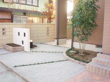 伊勢崎市 Y様邸 境界ブロック・アプローチ新設事例