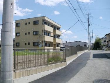 前橋市 Hアパート フェンス新設事例